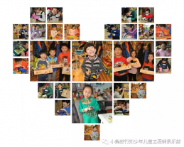 和小蚂蚁教育一起看下国外小朋友的木艺课堂!